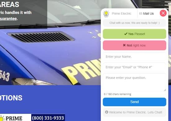 live chat website integration