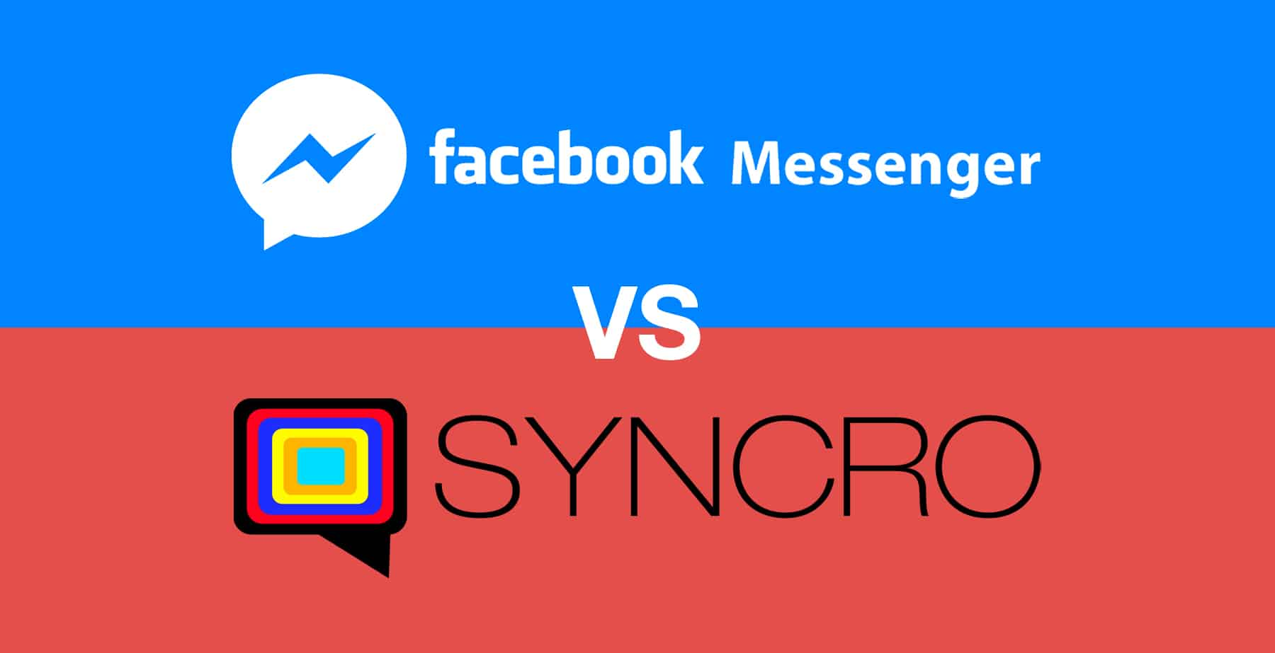 An alternative to Facebook Messenger - SYNCRO Web Chat