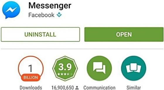 software like facebook messenger