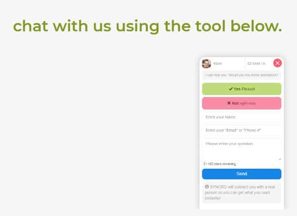 Live chat software GoDaddy