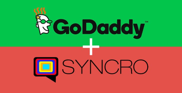 Live chat software + GoDaddy
