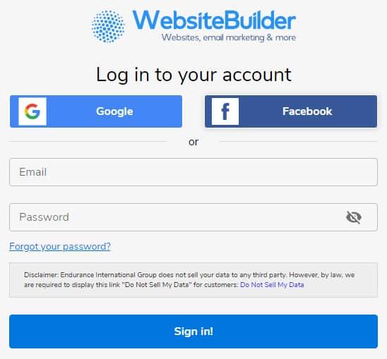 live chat software for websitebuilder